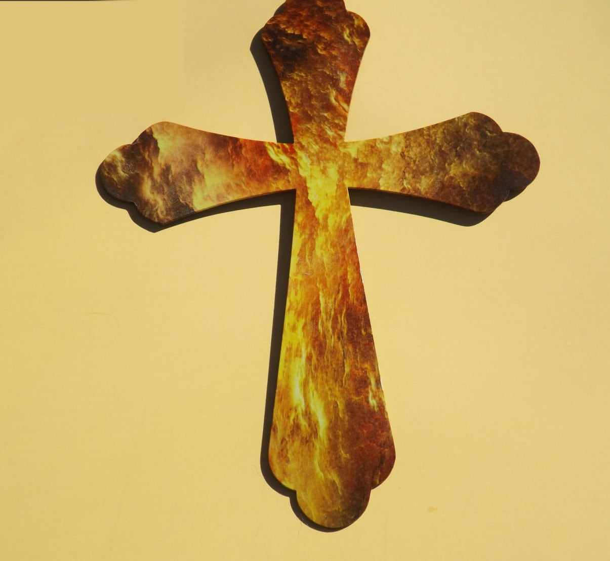 Fine Metal Cross Wall Decor Wholesale Ensign - All About Wallart ...