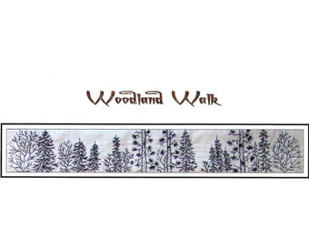 Woodland Walk - Tree Tops - Hand Embroidery Pattern by Beth Ritter - Instant Digital Download