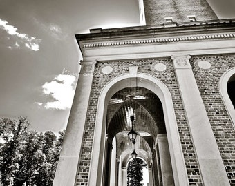 Morehead-Patterson Bell Tower 1 UNC Black & White -Chapel Hill, North Carolina Multiple Sizes Available-Fine Art-Landmark,Tarheels,UNC