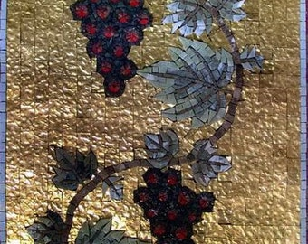 Grape Vine Art Mosaic