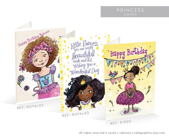 Multicultural princess cards black princess happy birthday multicultural princess cards black princess happy birthday multicultural cards greeting card afrocentric mixed race african american m4hsunfo Images