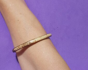 bracelet brass  1980th    vintage gift for mom for girl for woman wife christmas gift
