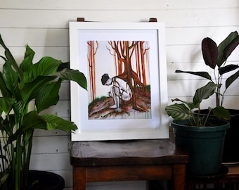 """Giclee Fine Art Print - After - 14x17"""" - Print"""