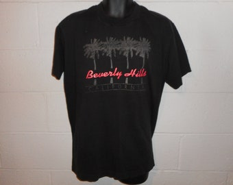 Vintage 90s Beverly Hills California T-Shirt XL