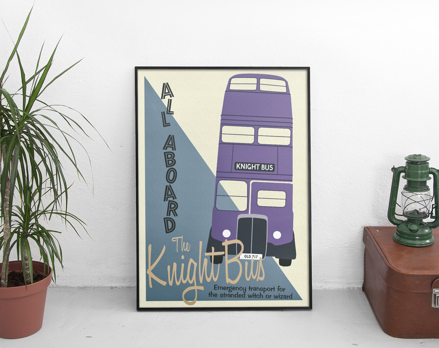 Harry Potter Knight Bus Poster