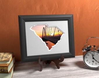 South Carolina Photo Map