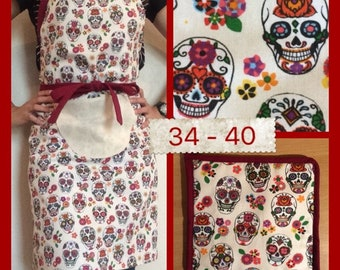Reversible and Adjustable Cooking apron pack
