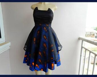 Ankara Butterfly Skirt