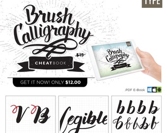 Brush Calligraphy Cheatbook