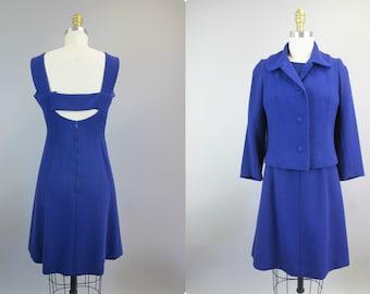 1960s Couture quality suit Unlabeled Susanne Pontieu