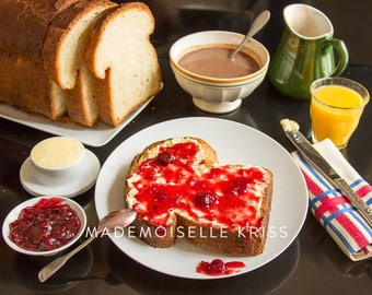 Marmelade Breakfast (Food photography)