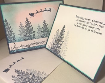 Forest Christmas Card