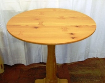 Pub Table made of 250+ Year Old Long Leaf Pine