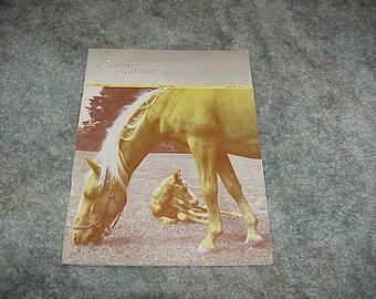 Vintage--PALOMINO Horse Magazine--1947--Palomino Horses--Official Publication--Palomino Horse Breeders