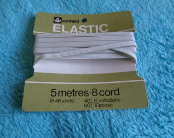 Winfield (Woolworth) white elastic