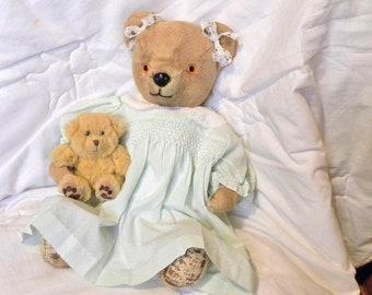 "1950's Bear - 17"" Pedigree Bear Peggy - Antique Teddy Bear"