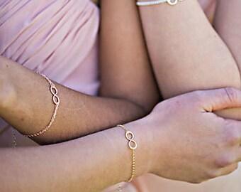 Large Infinity Bracelet