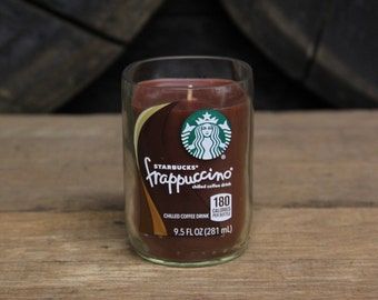 Starbuck's Frappuccino Candle - Starbuck's Bottle Candle / Soy Candle/ Coffee Lovers Gift / Coffee Candle / Coffee Gifts / Father's Day Gift