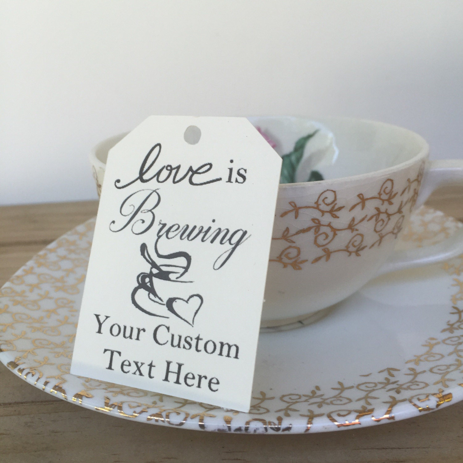 Love is Brewing - Personalized favor - Wedding Favor - Baby Shower ...