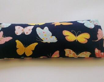 Aromatherapy Lavender Yoga Eye Pillow - Butterfly Pattern