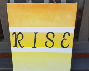 Rise Canvas Art
