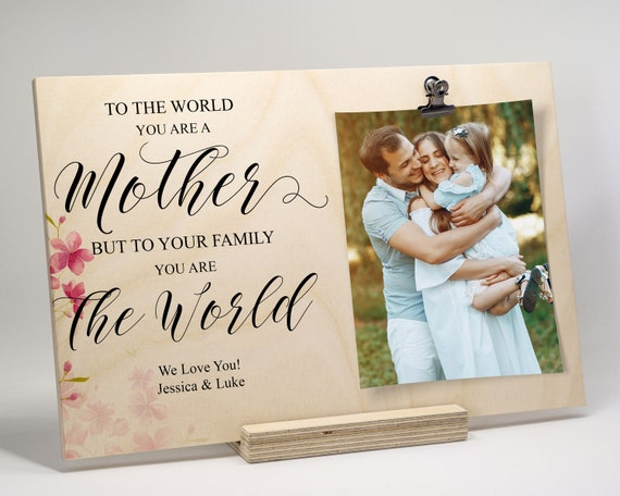 Mothers Day Gift Mother Day Frame Gift For Mom Personalized