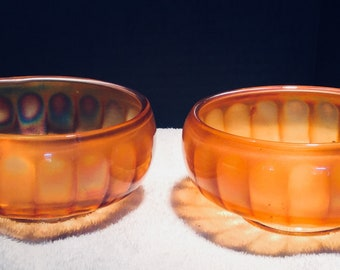 Imperial Glass Company Nut Bowls