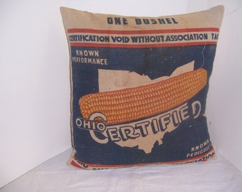 SEED BAG PILLOW