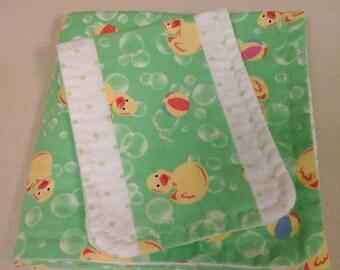 baby duck receiving blanket set