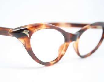 Vintage cat eye glasses tortoise  cateye eyeglasses NOS