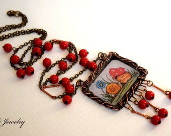 "Whimsical Moments ""Mr. Snail"" Necklace"