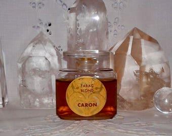 Caron, Tabac Blond, 30 ml. or 1 oz. Flacon, Parfum Extrait, 1918, 1940, Paris, France ..