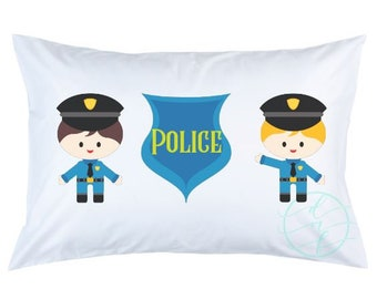 Personalized Custom Police Pillowcase