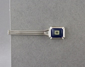 Vintage Computer Microprocessor Chip Tie Bar By NEC