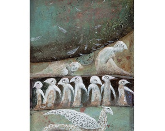 Fledgling Angels - Limited Edition Print