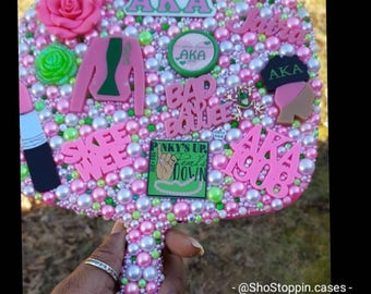 Personalized Sorority Hand Mirror