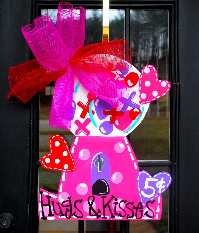 description new valentine door