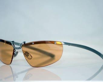 VERSUS VERSACE Immaculate Vintage Mens Designer Sunglasses MOD L34 22M 251 12103