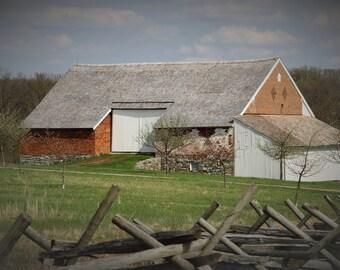 Trostle Barn / Gettysburg - Photograph