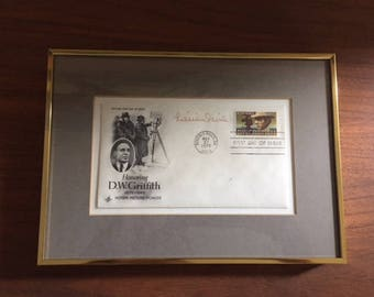 Lillian Gish signed First Day Cover