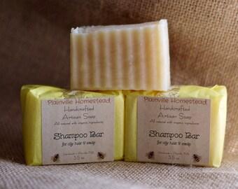 Shampoo Bar || Oily Hair || Artisan Soap