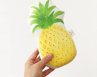 Pineapple Baby Rattle