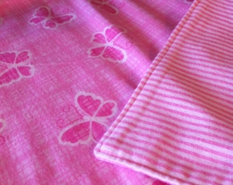 Double-Sided Flannel Baby Blanket