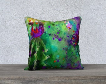 """Cacti Pillowcover ver.4 18"""""""