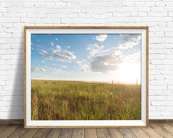 "instant download printable art, landscape wall art, large art, large wall art, landscape prints, instant download art - ""Summer Horizons"""