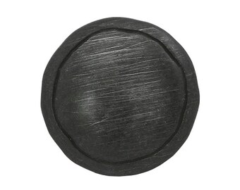 3 Uptown 7/8 inch ( 22 mm ) Black Metal Buttons