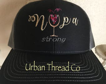 Napa Strong Trucker hat