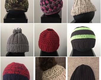 Croche Hats, Beanies