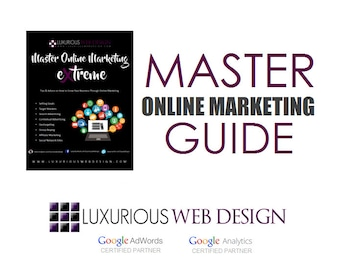 Master Online Marketing Extreme Guide - Search Engine Optimization - Custom SEO - Online Marketing Guide - Instant Download