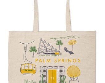 Palm Springs Market Tote